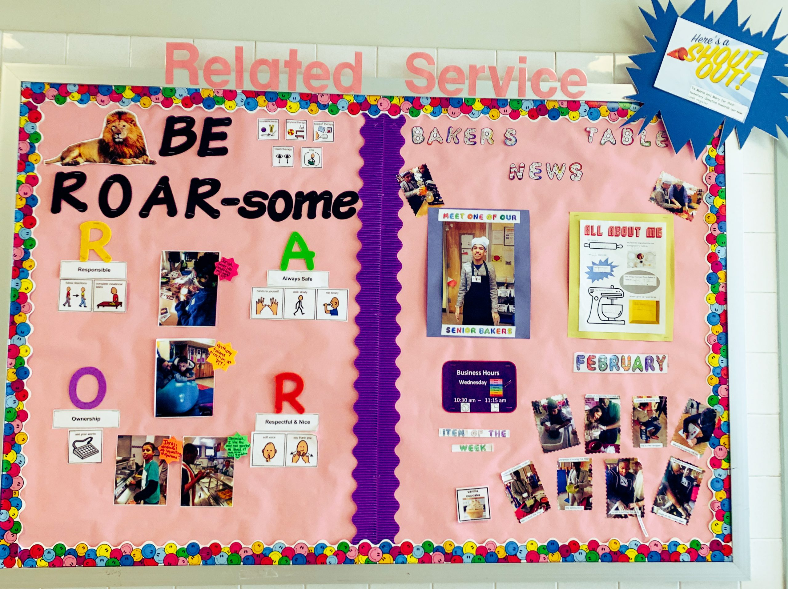 Related Services Bulletin Board