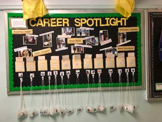 Career Spotlight at 42 Bulletin Board