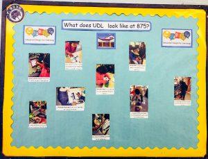 Universal Design for learning bulletin board