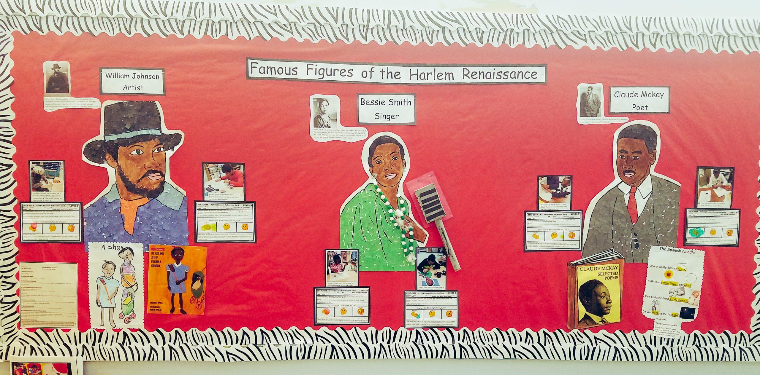 Harlem Renaissance Bulletin Board