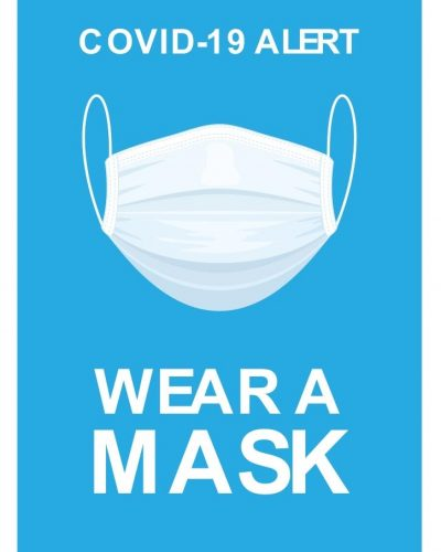 Covid-19 poster wear a mask